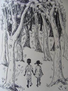 Drawing by Henrietta Bruce Sharon