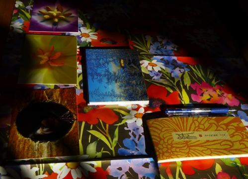 Pens, Paper, Postcards