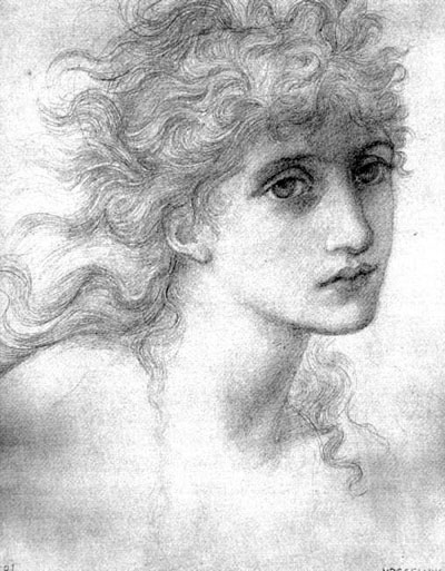 Study by Burne-Jones, c. 1870