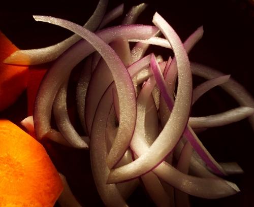 violet curves