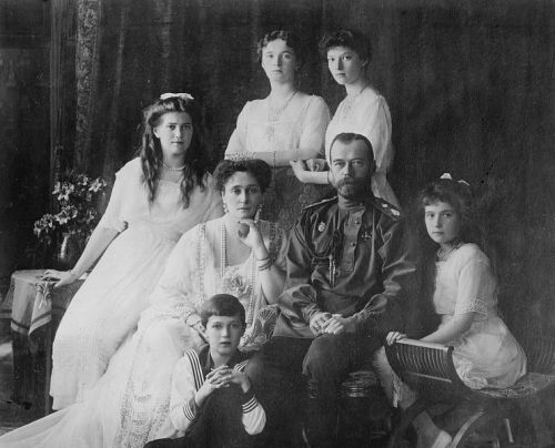 Czar Nicholas and the Russian Royal Family, 1917