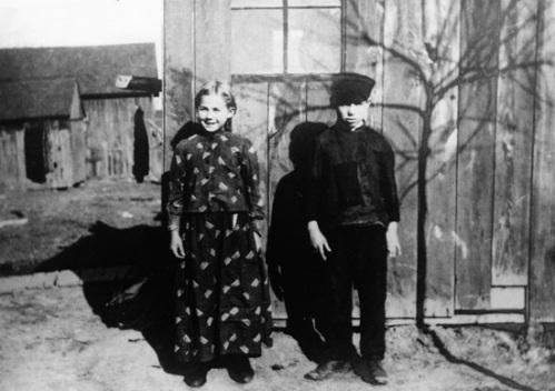German Russian Children in Nebraska