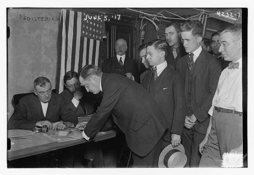 Registering 1917, Library of Congress
