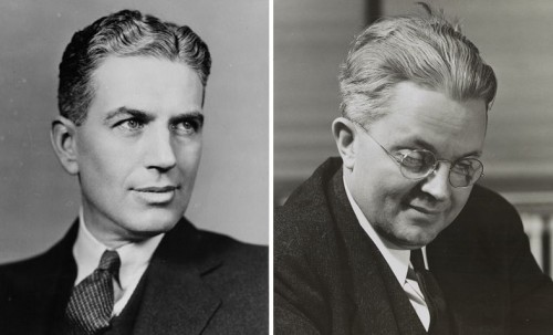 Rexford Tugwell and Roy Stryker