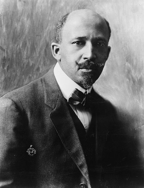 WEB Dubois in 1918, co-founder of the NAACP