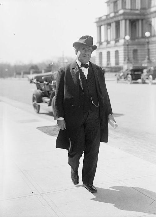 William Jennings Bryan, Rep. from Nebraska 1891-1895 and U.S. Secretary of State 1913-1915