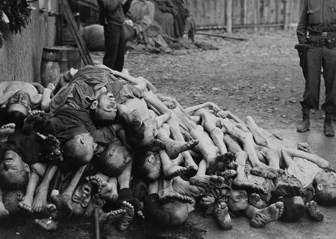 Buchenwald Corpses, 1945