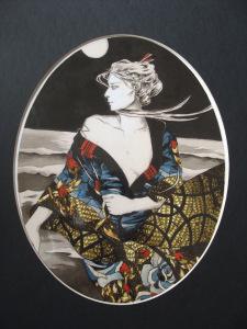Spring/Summer Geisha, artwork by Zoe Langosy
