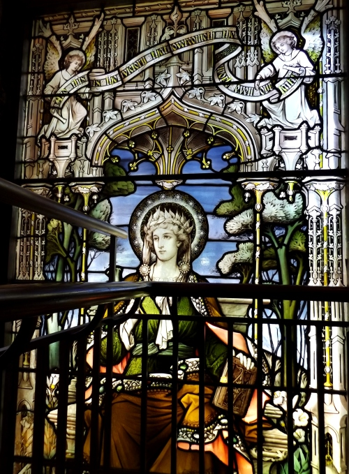 The Woods Window, executed by John Hardman and Company
