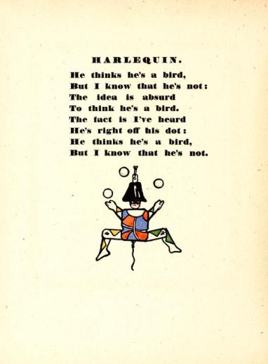 Excerpt from Edward Gordon Craig's Book of Penny Toys, 1899