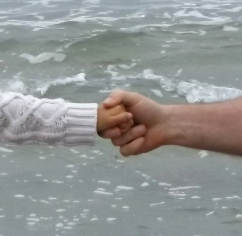 a helping hand across cold waters