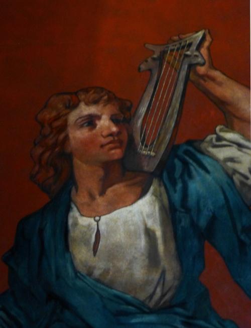 David, mural by John La Farge
