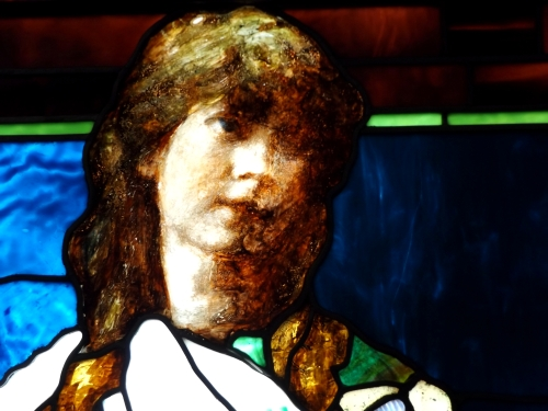 Detail from Purity by John La Farge, 1885