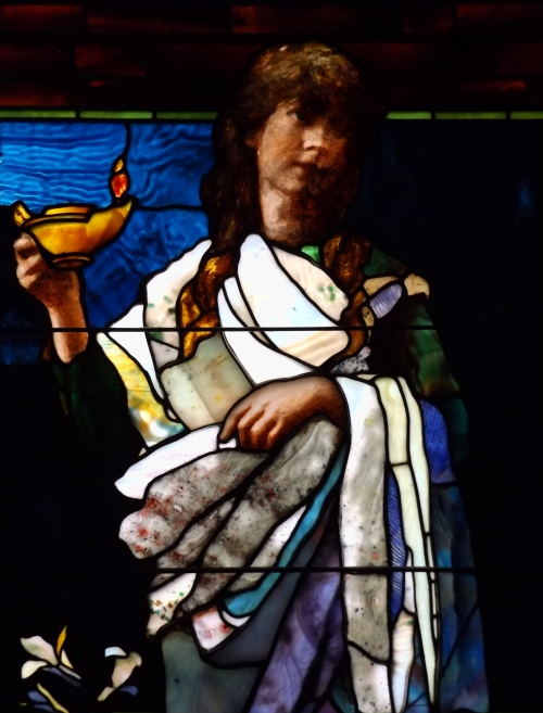 Detail 2 from Purity by John La Farge, 1885