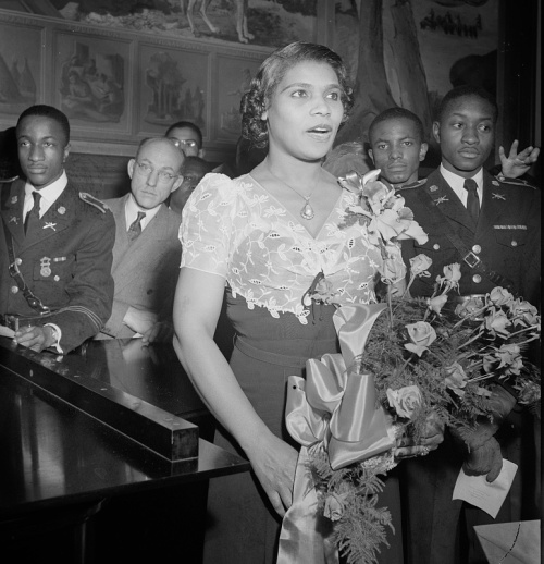 Marian Anderson, photo by Roger Smith, 1943