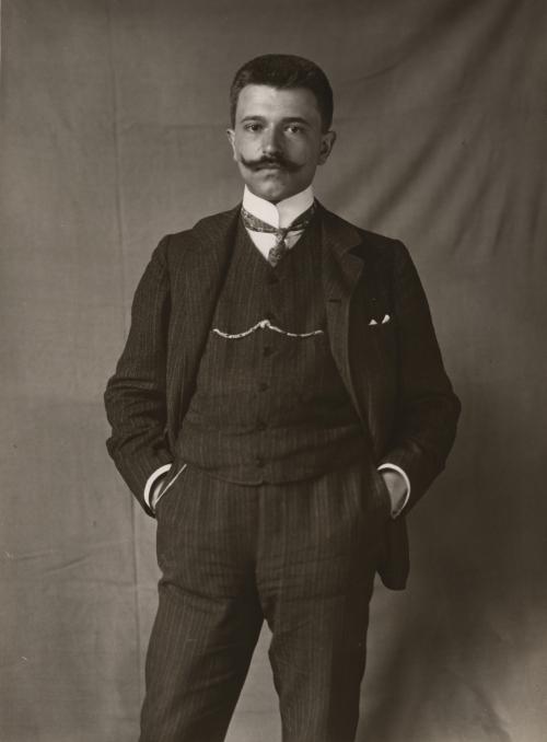 Portrait Eric Stenger, 1906, Museum Ludwig, Foto (c) Rheinisches Bildarchiv