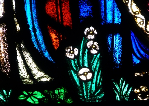 Detail from the Evangelists Window, Trinity Church, 1927