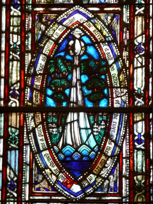 Detail from Tree of Life Window, Trinity Church