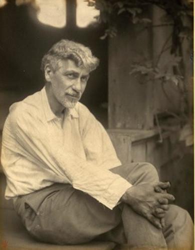 Charles R. Lamb, photo by Doris Ulmann