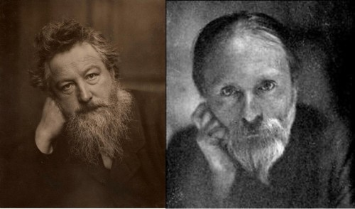 William Morris (1834-1896) and Edward Burne Jones (1833-1898)