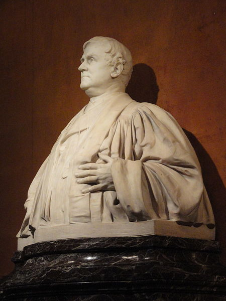 Bust of Phillips Brooks by Daniel Chester French