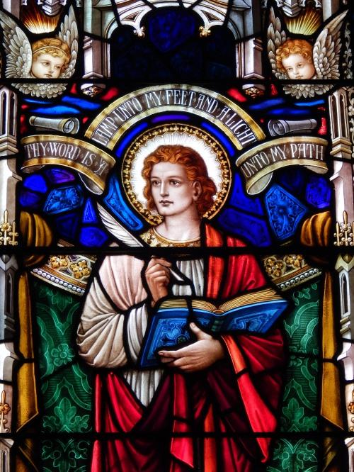 Detail from St. John Window