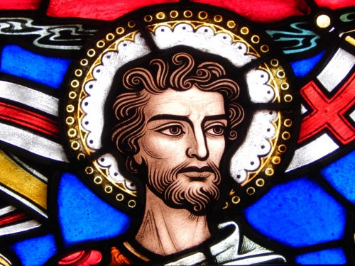 Detail from St. John the Baptist Window