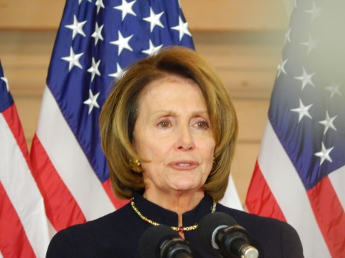 Nancy Pelosi, Democratic Leader of the House of Representatives