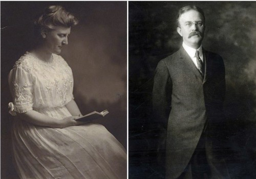Mary White Ovington and Oswald Garrison Villard, circa 1910-1920