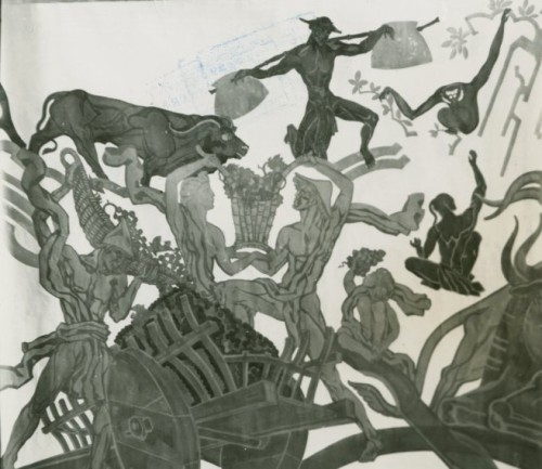 Vineyard by Bourdelle 1939