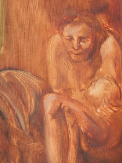 Detail from Early Work by Donald Langosy