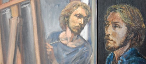 self-portraits of donald