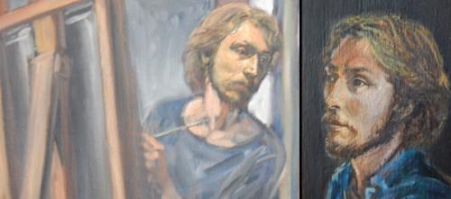 self-portraits of donald