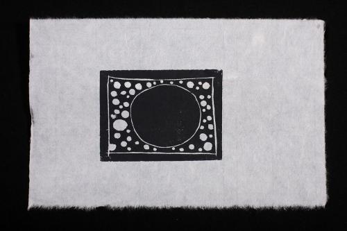 linoprint by carol moses