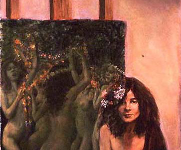 Detail from Flora by Langosy
