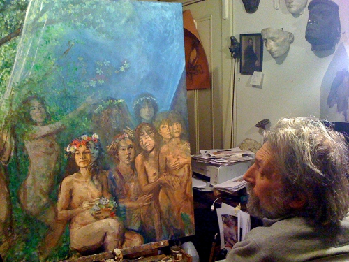 donald langosy in the studio present day