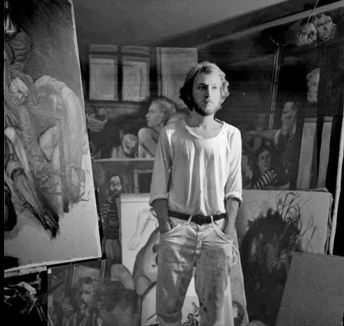 donald langosy in the studio