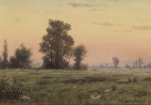 Landscape by Richard Lonsdale Brown