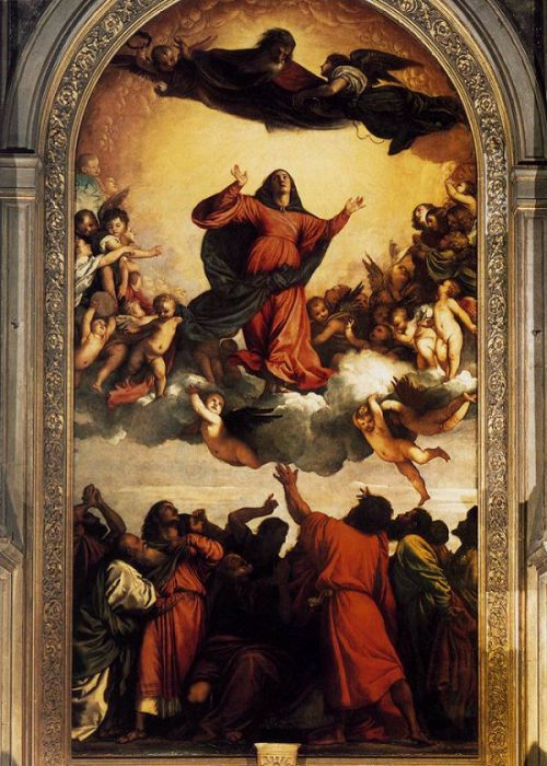 Assumption of the Virgin, by Titian