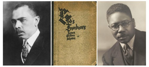 James Weldon Johnson and Aaron Douglas