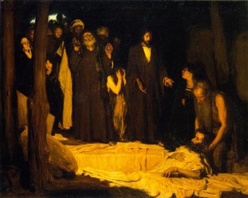 resurrectionoflazarus1896