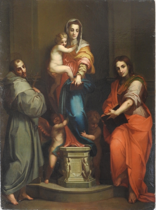 Madonna of the Harpies TCB