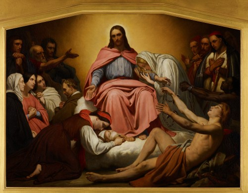 ChristusConsolator1851Scheffer